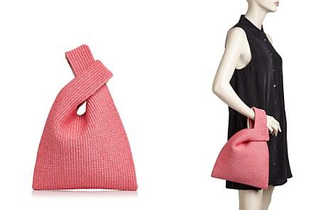 Arron Raffia and Leather Crossover Bag - Bloomingdale's_2